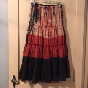 Lined Broomstick Skirt